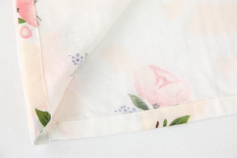 Сорочка чистая хлопчатобумажная пряжи 4yPb0 Женской Главная Одежда халат пижамы ткань халат капок дышащей удобные летние пижамы домашней ткани