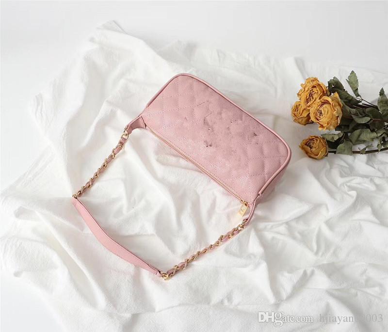 2019 Bolsa Bandoleira para mulheres de couro de luxo Bolsas Mulheres saco Designer Ladies mão bolsa de ombro Mensageiro Sac A principal 01