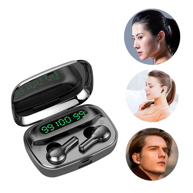 2020 New Bluetooths 5.0 R3 TWS vrai casque sans fil écouteurs écouteurs casque avec 2000mAh charge expédition Case gratuite