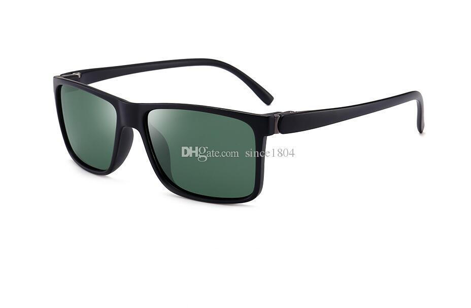 Sonnenbrille Art und Weise polarisierte Sonnenbrille der neuen Männer Driving Trendy Driving Platz Brille