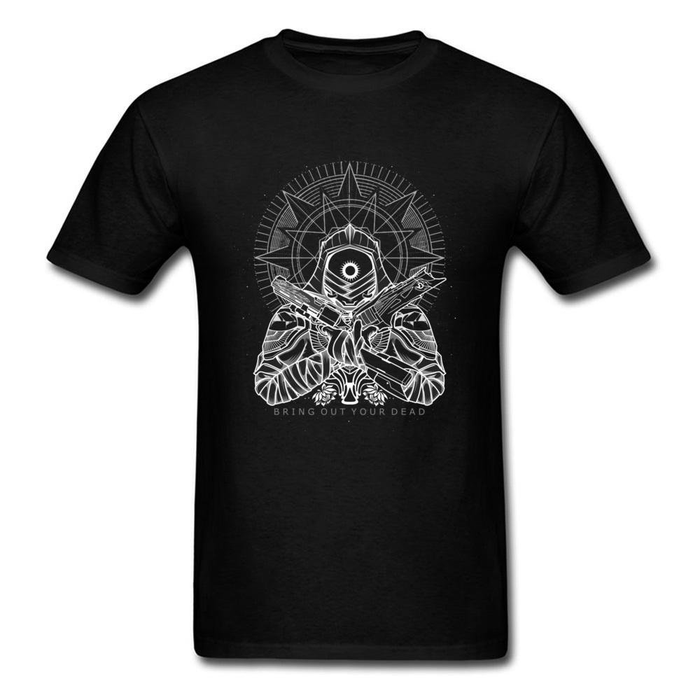 2020 Bring Out Mode T-shirt de votre mort Anime Cartoon hommes de conception personnalisés Hauts T-shirt noir Tueur blanc