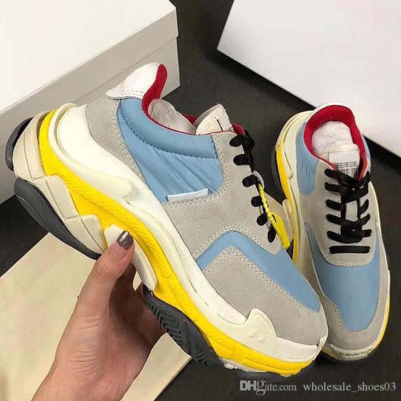 YENİ Deri Günlük Ayakkabılar Kadınlar Sneakers Erkek Ayakkabı Gerçek Deri Moda Karışık Renkli Orijinal H47