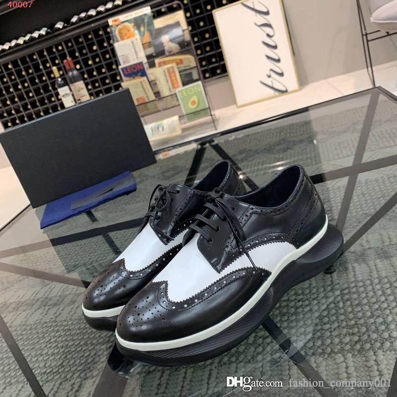 new Trend all-match European and American fashion men casual shoes, Rubber foam base black leather splice design decoration