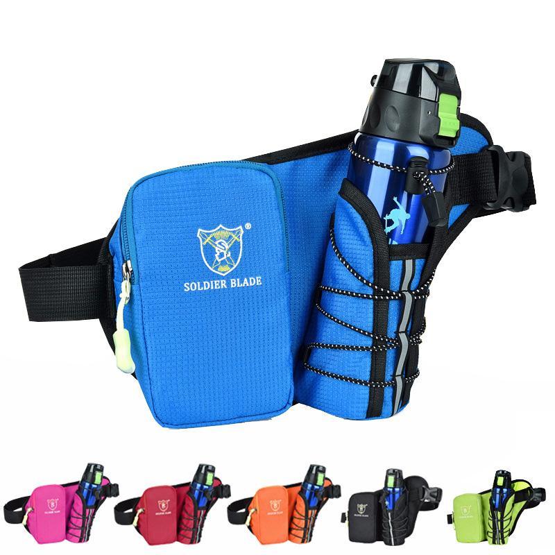 Running Cross-body Kettle Marathon Women Outdoor Sports Travel Walking Bag Bag Mobile Waist Camping And Nylon Men Phone Belt Bkdhq