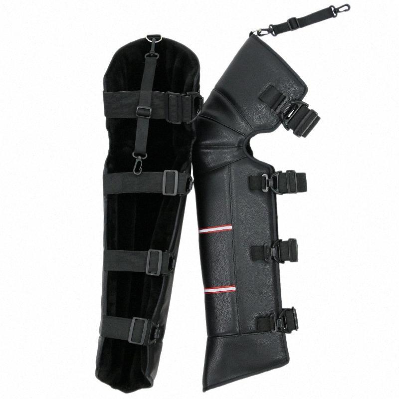 Inverno riscaldamento Knee Pad motorino del motociclo antivento Winter Warmer ginocchio Leg protezione del rilievo Dusu #