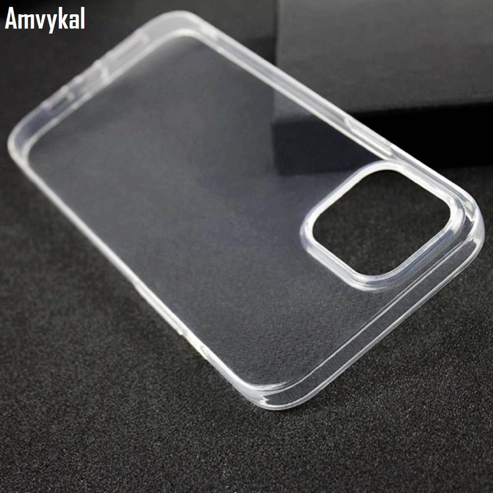 1mm Ultra-ince Yumuşak TPU Temizle Kılıfları Için iPhone 12 Pro Max Şeffaf Silikon Telefon Kapak iphone12 12pro 12mini
