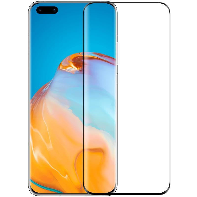 Tela 3D Curved vidro temperado Protector Film Guarda Premium Cover cobertura total para Huawei P40 Pro + P30 Honor 30 Companheiro 20 Nova 7