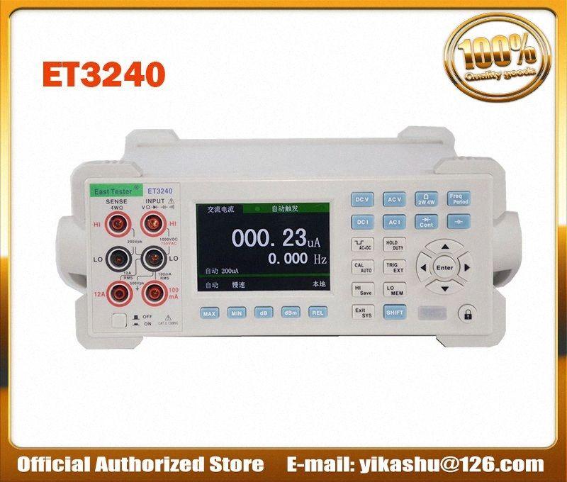 Цветной ЖК-цифровой мультиметр Емкостное сопротивление Частота измерения ET3240 Desktop Instrument DCV ACV DCI ACI vtgK #