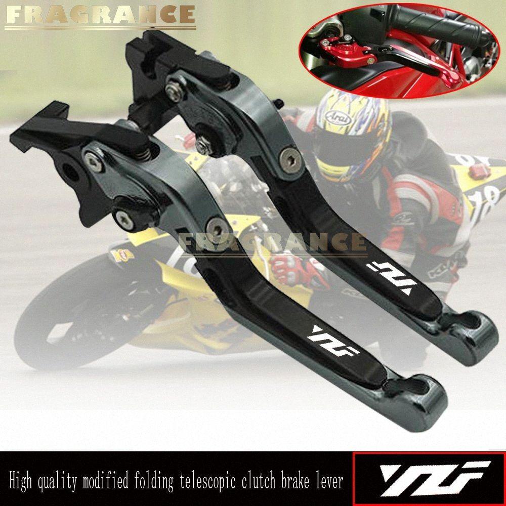 для YZF R1 YZFR1 1998-2017 YZF R6 YZFR6 2000-2017 850 XJ60 Откидных Выдвижного Регулируемого Мотоцикл Тормозной системы сцепления Рычагов EmOa #