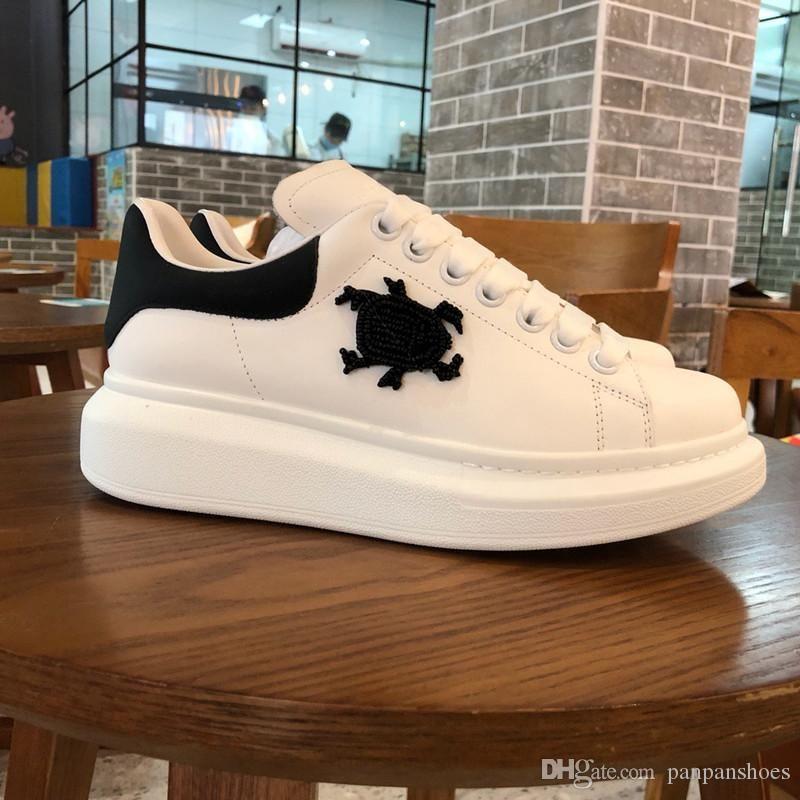 Üst Kalite Zincir Reaksiyonu Lüks Tasarımcı Ayakkabı Womens 2019 Yeni Moda Bölge Chaussures De Homme Femme xsd190611