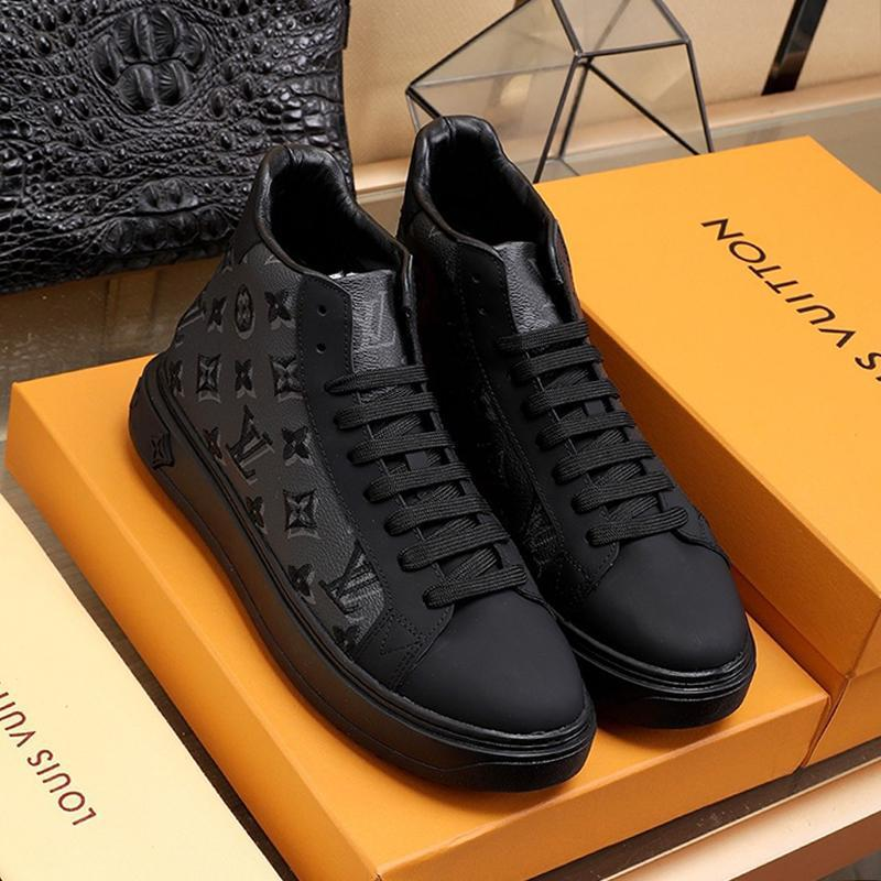 Comfortable Men Shoes Drop Ship Fashion Classic Autumn And Winter Sneakers Lace -Up Casual High Top Sports Men Boots Chaussures Pour Hommes