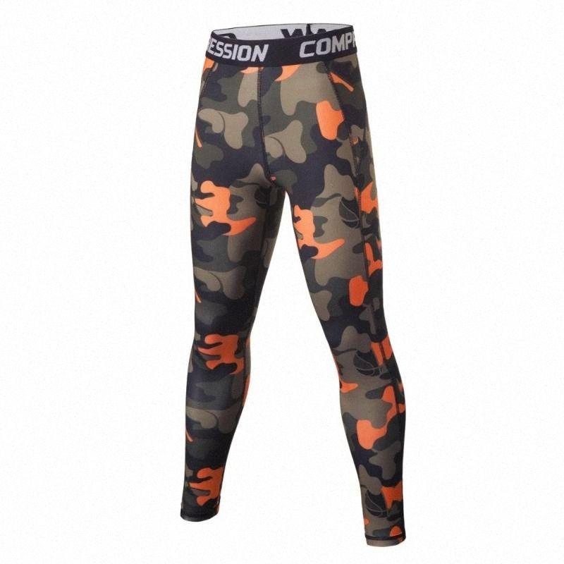 Miúdos que funcionam justas calças de compressão Meninos Sport Kit Basquetebol Futebol Futebol Training Pant Shirts Underwear Calças Leggings BMjZ #
