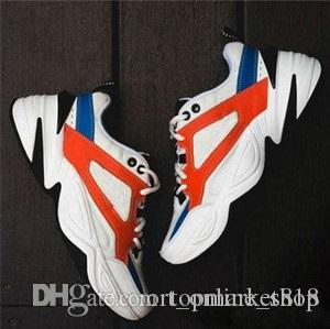 Sıcak satış Monarch M2K Tekno Moda Baba Ayakkabı Monarch 4 Tasarımcı Zapatillas Erkekler Kadınlar Klasik Sneakers Boyutu 36-45 için Ayakkabı Koşu