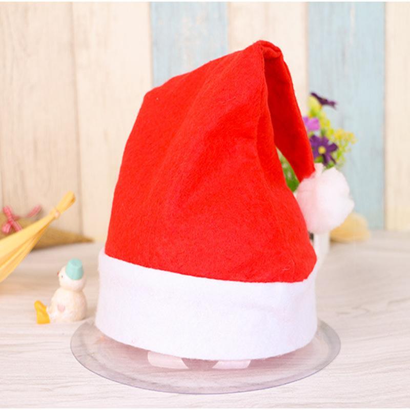 크리스마스 부직포 모자 산타 클로스 코튼 모자 크리스마스 선물 모자 파티 모자 YYA234의 1200pcs 캡