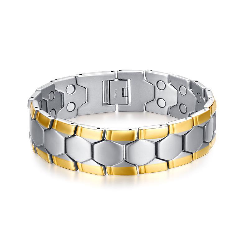 Or et bracelet couleur argent pour les hommes 2020 acier