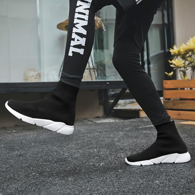 المرأة الكورية الجديدة الأحذية أعلى ارتفاع، والرياضة، الترفيه، الأوتار، البسكويت، الجوارب المطاطية، والأحذية، وصافي الأحمر، والأحذية المسطحة.