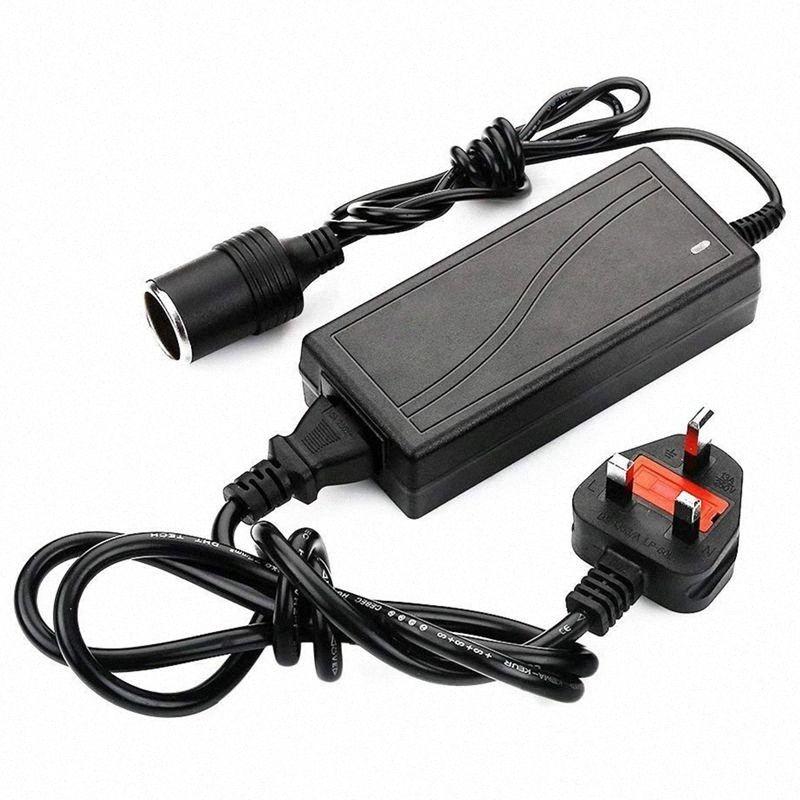 UK plug Power Supply Cigarette Lighter Socket AC to DC Adapter 110V-240V to 12V 5A Car Power Charger Converter DFZf#