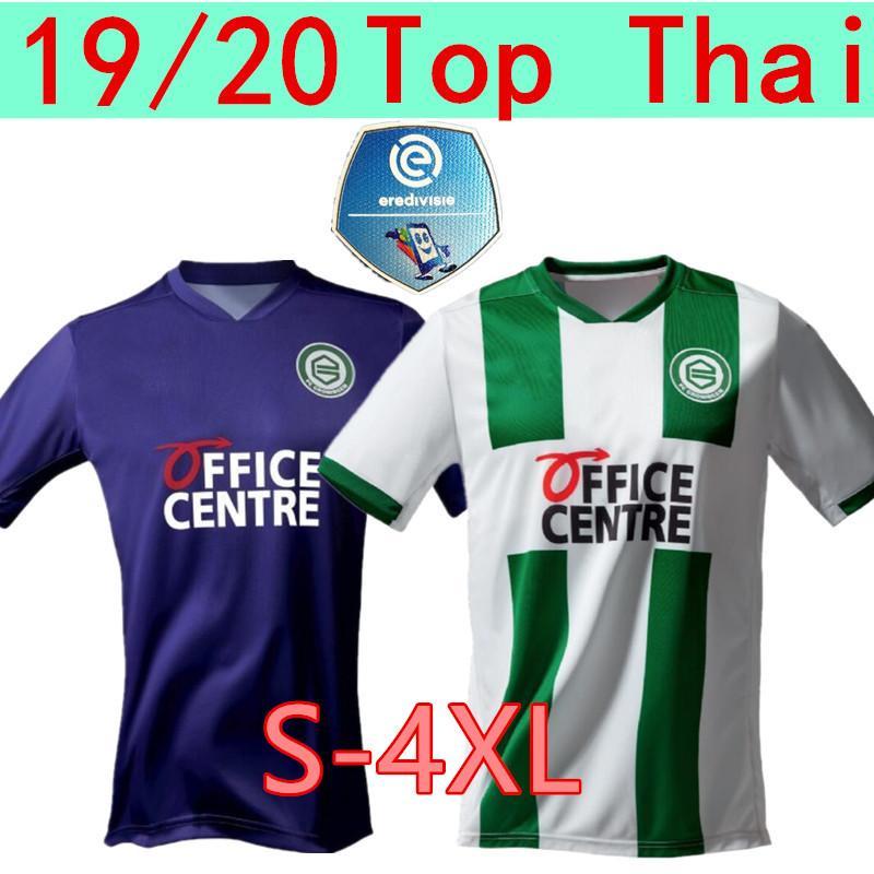 S-4XL 20 21 FC Groningen трикотажных изделий футбола дом вдали Роббен 2020 2021 Groningen Deyovaisio Zeefuik Daishawn Redan футбольных рубашки Майо