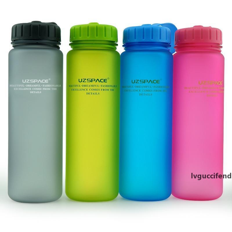 1000Ml 650Ml Sports Bottles Scrub Space Shaker Cycling Hiking Travel Camping Climbing Drinkware My Milk Fruit Juice Water Bottle