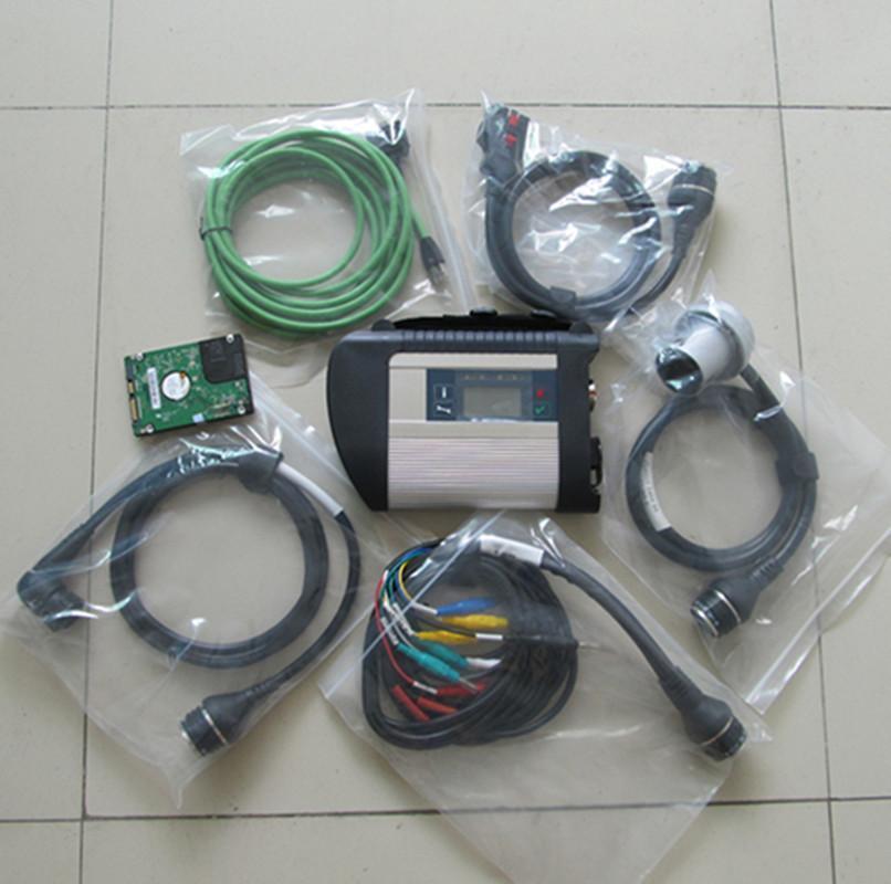 multiplexeur mb et 5 étoiles c4 câbles avec le logiciel Hdd dernière version 2020,6