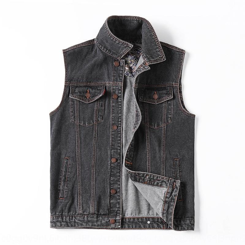marque de mode casual simple, lavage du vent hommes de graisse Top veste Robe vestsolid grand denim taille veste de dessus des hommes manteau