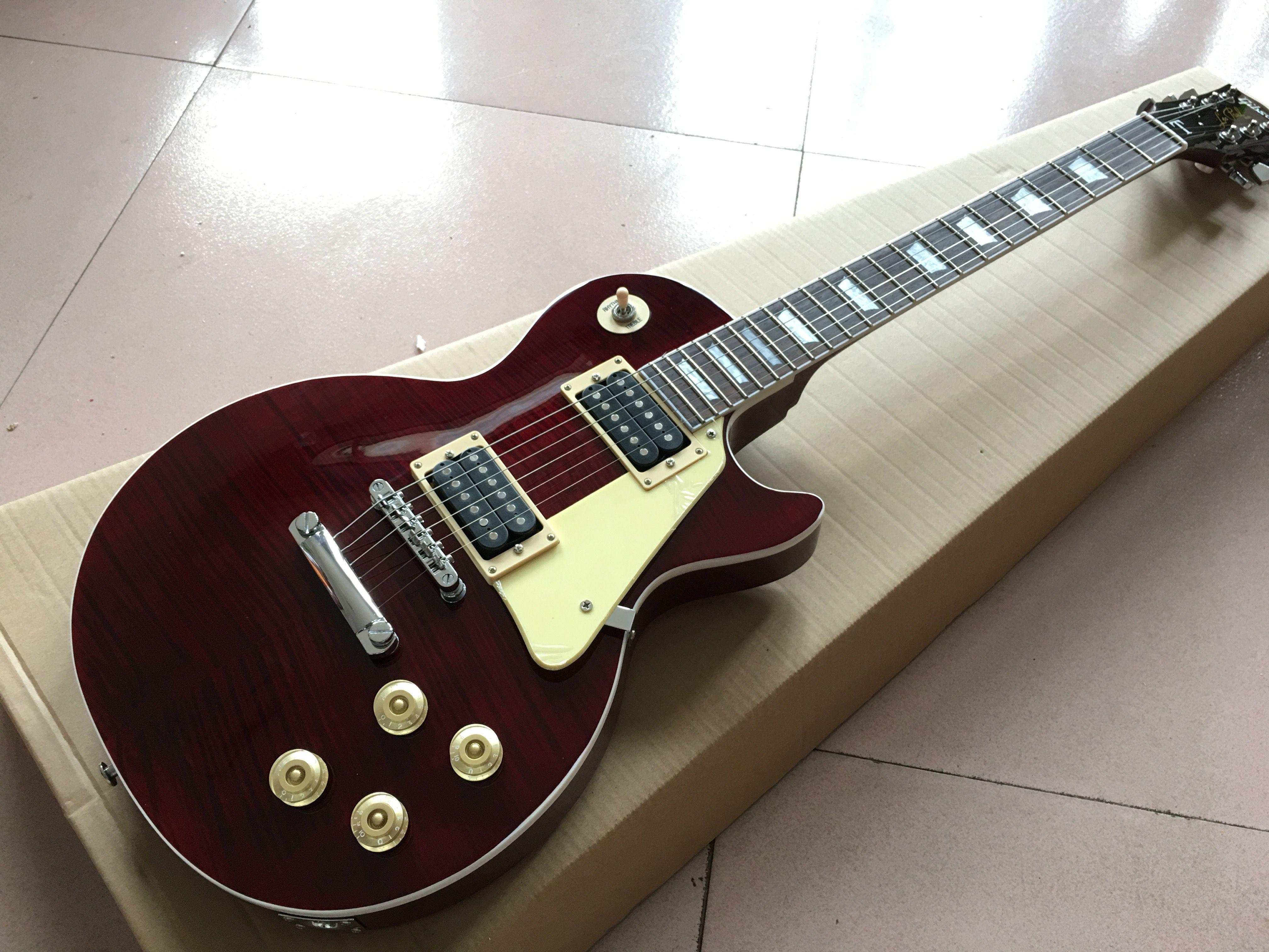 Custom shop, standard custom electric guitar.fingerboard binding Standard gitaar,one piece neck and one piece body guitarra.