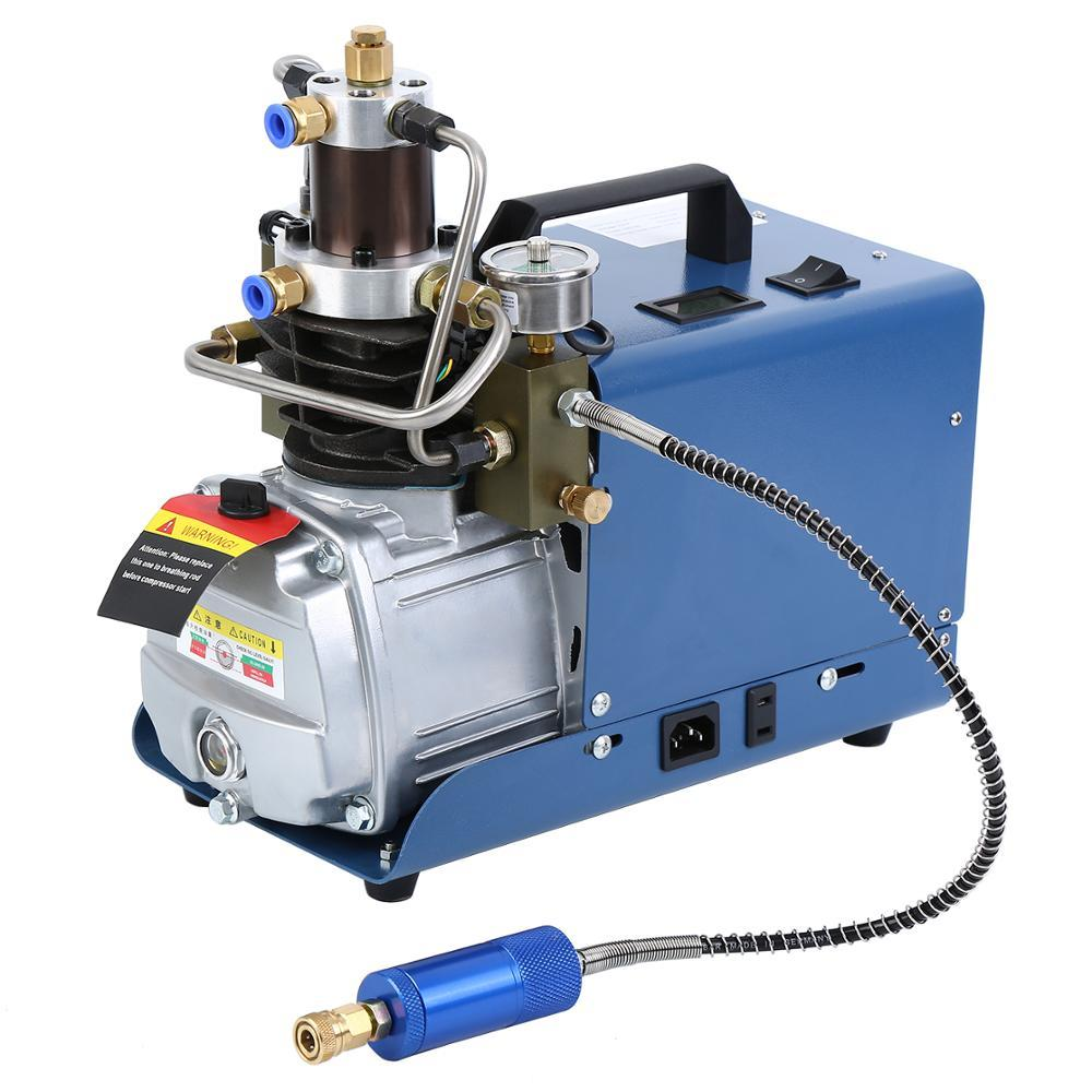 110V 220V 30MPA 4500PSI الضغط العالي الكهربائية ضاغط الهواء مضخة الهواء لالهوائية أيرغون الغوص بندقية PCP نافخة