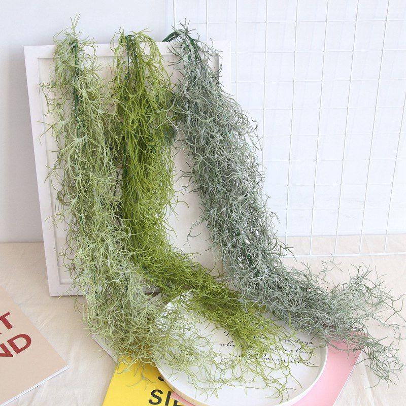 Yapay Bitki Vine'nin 91cm Yeşil bitki Ev Partisi Bahçe Dekorasyon DIY Bitki Duvar Plastik Gerçek Dokunmatik Sahte Çiçek Düğün Çiçek