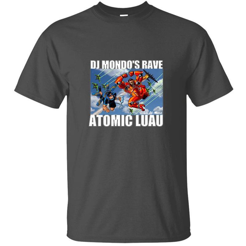 Новый Dj Mondo»Rave: Fall Of The Heroes T-Shirt Люди вокруг шее Streetwear Tshirts Большого размер 3XL 4XL 5XL Camisas рубашка