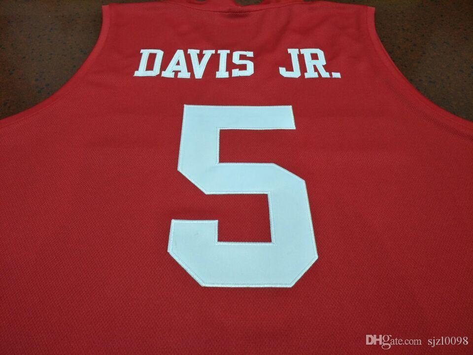 Özel Erkekler Gençlik kadınlar Hou Cougars DeJon Jarreau # 13 Corey Davis Jr 5. Armoni Brooks 3. Jersey Boyut S-5XL veya özel herhangi bir ad veya numara forması