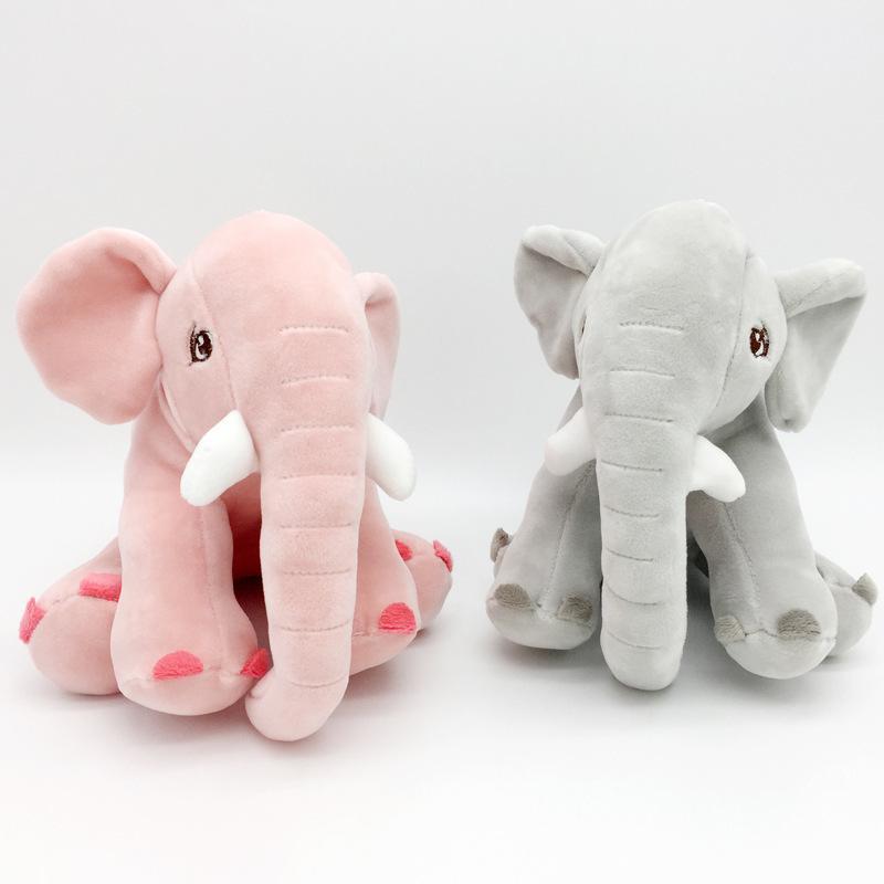 20 CM bebê Elefante bonito Stuffed Boneca macios animal de pelúcia Brinquedos Presentes Atacado