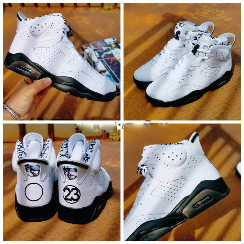 2020 Yeni 6 Spor Mavi 6 S GS Timsah Erkekler Basketbol Ayakkabı 3 M Yansıtıcı Şerit Graffiti Sevgililer Günü Spor Bayan Tasarımcı Sneakers 36-47