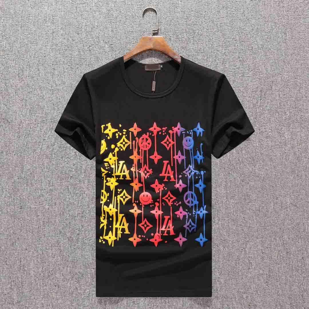 2020 Sommer neuer Ankunfts-hochwertiger Designer Bekleidung Herrenmode T-Shirts Medusa-Druck-T-Shirts Größe M-3XL