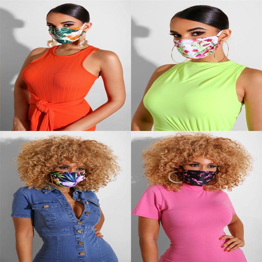 Máscara nueva Den cara de encaje mujeres ojo partido de la mascarada de Halloween bola de cristal rojo # 402