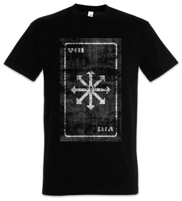 Tarot Chaos T-shirt Cartes Carte Symbole Signalisation Logo Insignia