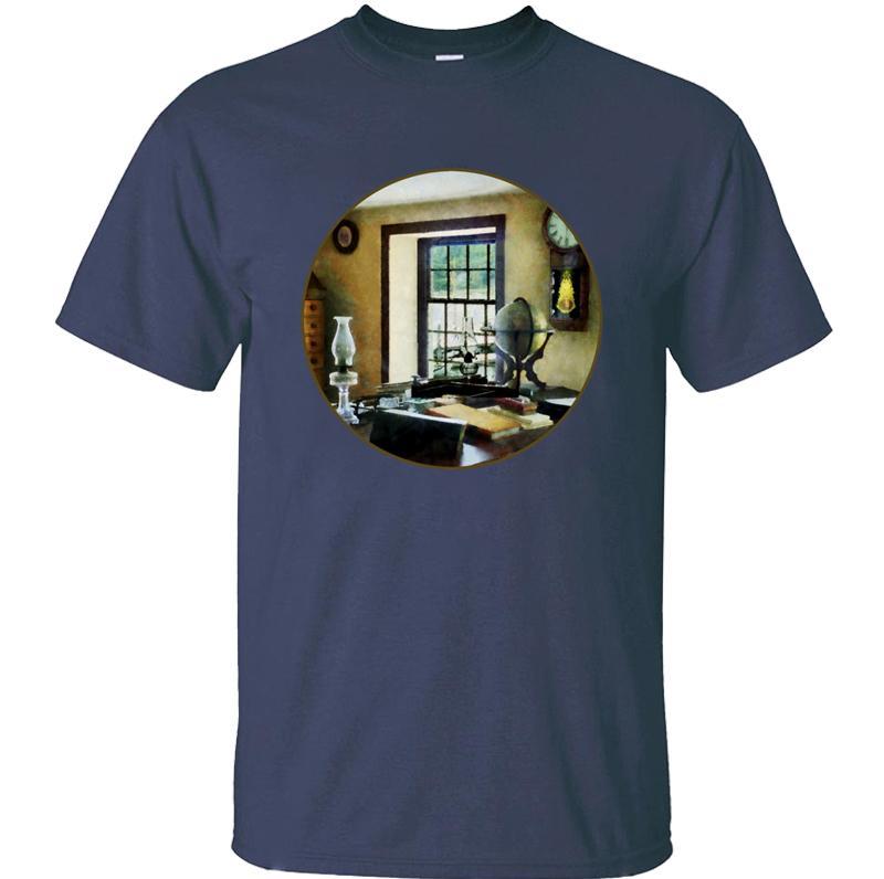 Anpassen Humor Kugel, Bücher und Lampen T-Shirt Junge Mädchen schwarz einzigartige Mens-shirts Runde Kragen Kurz-Hülse ehrfürchtige T Tops