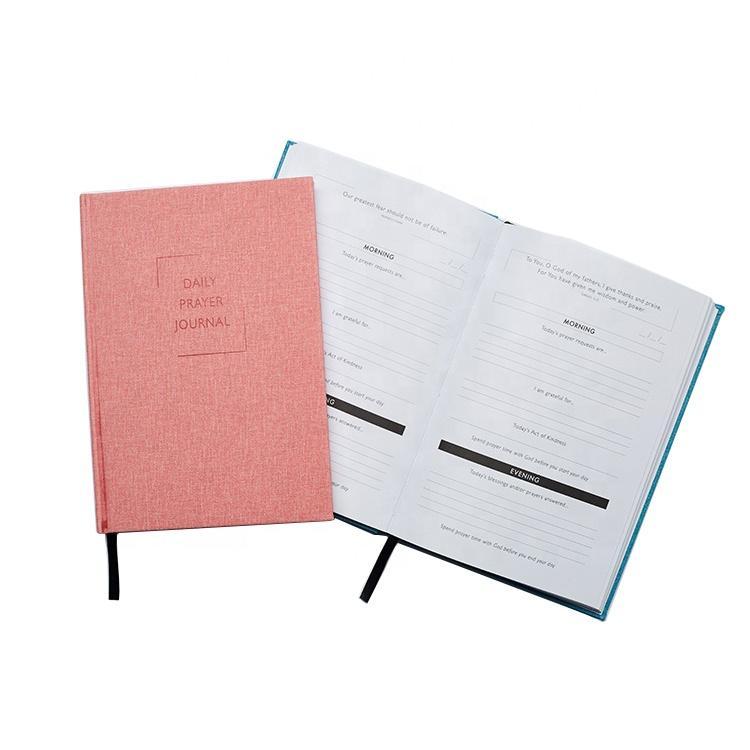 2020 يوميات مخصص A5 بو الجلود غطاء مخصص A5 مجلة مخطط جدول الأعمال