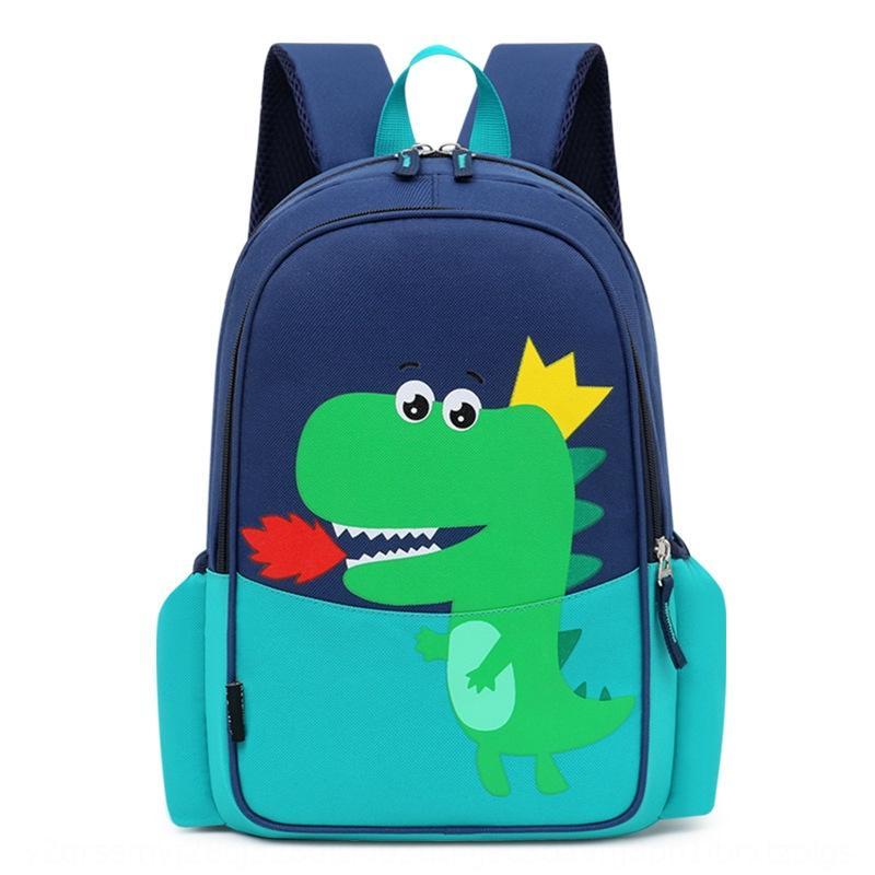 cartone animato per bambini carino borsa zaino drago di fuoco ragazzo scuola materna bambino grande capacità zaino allievo zainetto