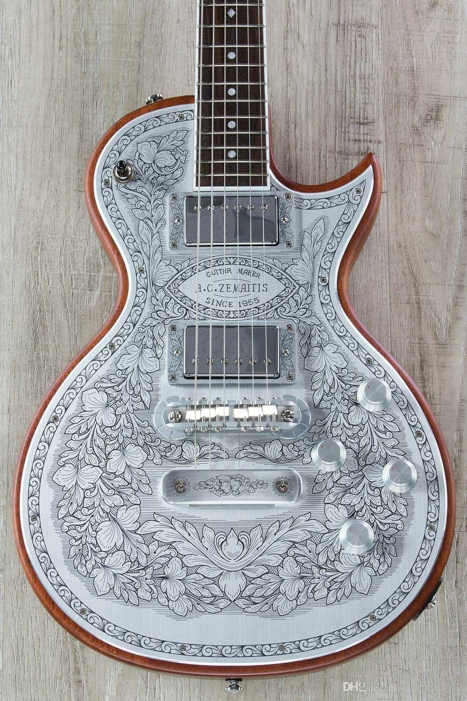 Yeni Zemaitis C24MF NT Casimere Metal Ön Elektro Gitar Gülağacı Klavye