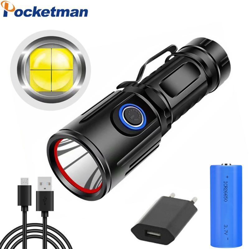 10000LM XHP50 высокой мощности бликов USB-зарядки светодиодный дисплей P50 маленький стальной пистолет сильный фотоэлектрический факел