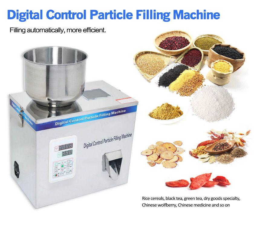 200g Granül Toz Dolum Makinesi Otomatik Tartım Paketleme Makinesi Çay Fasulye Tohum Parçacık Medlar 180 W