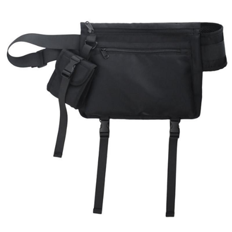 AUAU-Peito Pack para Homens Mensageiros saco da forma funcional Homens Crossbody Bags Hip Streetwear Bolsas