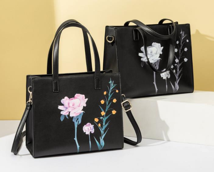 Сумка Новый 2020 Диагональ плеча конструктора Женская сумка ретро Printed Дикого сумочка