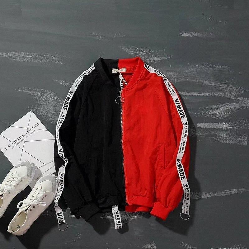 Südkoreanische Art Sun Schutzkleidung Trend Herren-Jacke Herren Farbe Stitching Baseball Uniform Mann Jacken Windjacke SLCC #