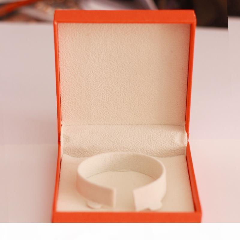 I 2017 Mode cadeau Boîte rouge pour l'amour Bracelet Et Anneaux Box Orange Box