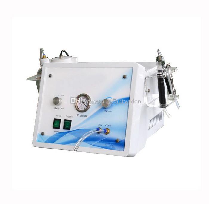 3 в 1 гидра DermaBrasion алмазное микродермабразия кислородной реактивной реактивной оксиал-оксиаплюнной распылительной машины для омоложения кожи