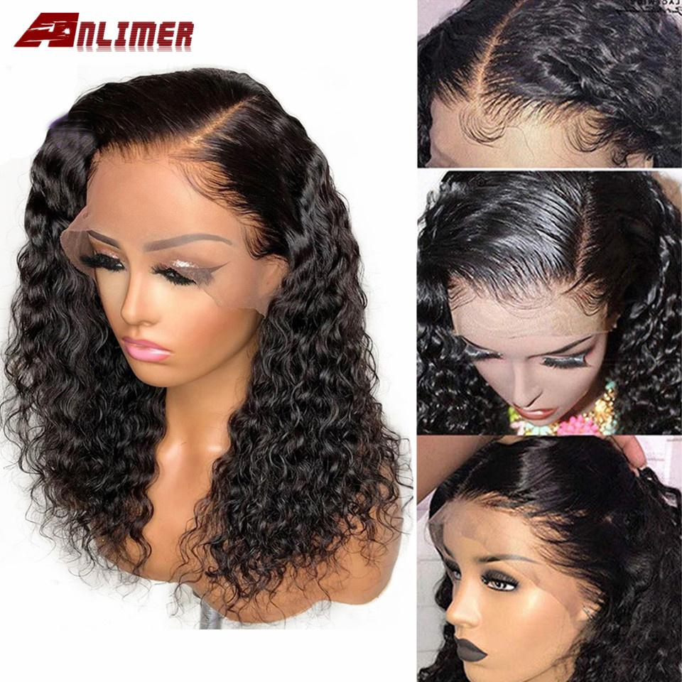 Side Part Curly Full Lace Human Hair Wigs Pre Plucked With Baby Hair Glueless Full Lace Wigs For Black Women Brazilian Remy Hair