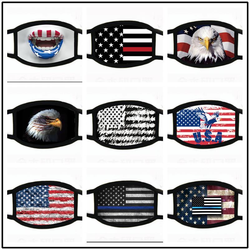 Maschere per la moda Maschere Trump American Elections Forniture per la stampa antipolvere Maschera universale per uomo e donna Lavabile Bandiera traspirante Maschera Best Sale