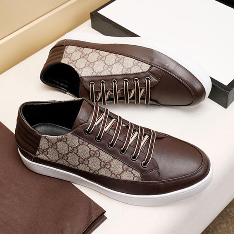 Zapatos casuales para hombre Formadores Moda Deportes deporte Pasear Tenis para hombre Zapatos Moda Uomo Tipo Scarpe Da Zapato de lujo para hombre Nave de la gota