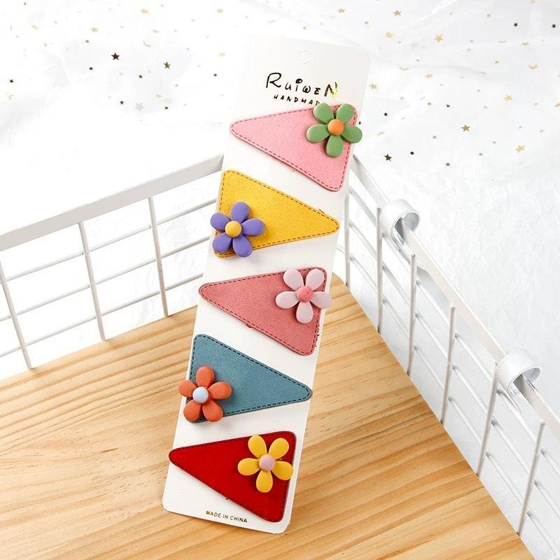Coreano acessórios infantis bebê cabelo bonito lado cocar menina princesa cabelo cocar bebê cartão clipe BB clipe de topo